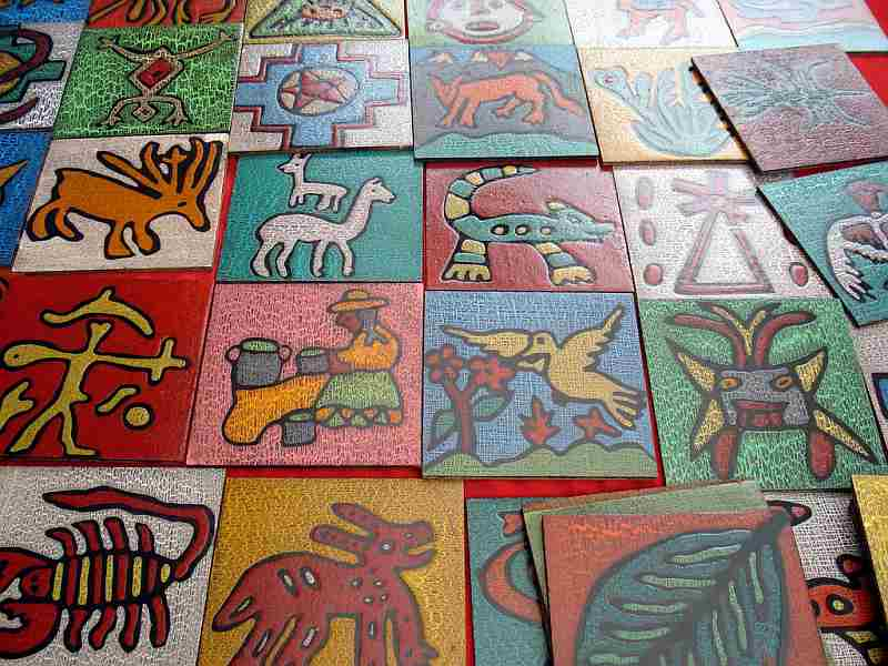 Pisaq, Perú – Art in the form of coasters