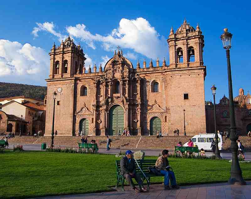 Plaza de Armas and Cathedral, Cusco, Peru