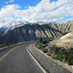 Road from Cuzco to the Sacred Valley of the Incas