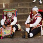 Traditional Andean dance festival