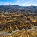 Valley of Colca River, Peru
