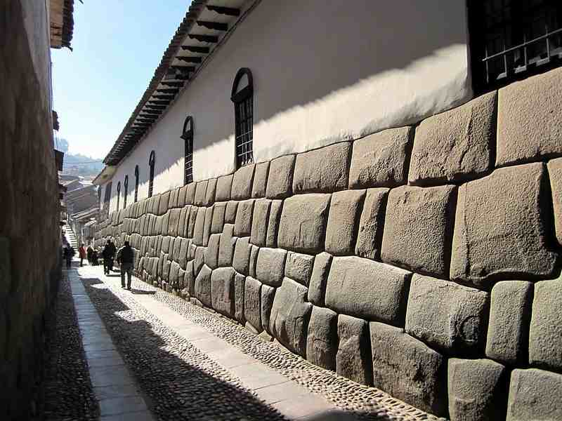Wall in Cuzco