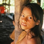 Yágua Indian Girl