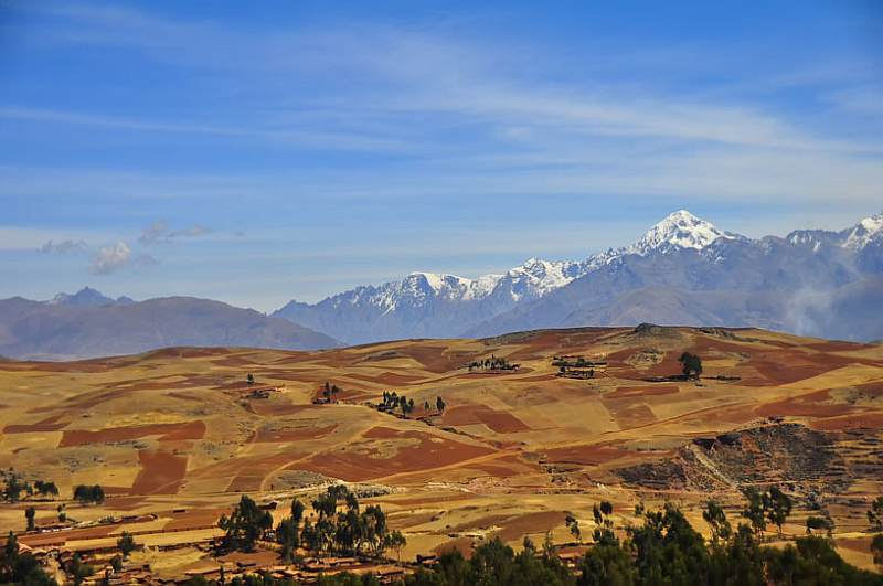 Quilted Fields, Andes